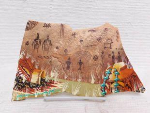 Native American Hopi Painted Slate