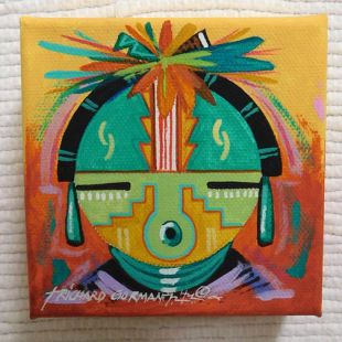 Native American Made Maiden Painting