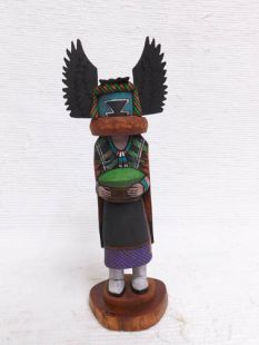 Native American Hopi Carved Crow Mother Katsina Doll