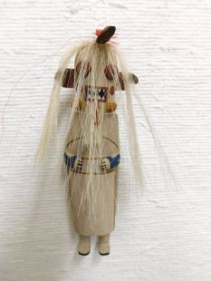 Old Style Hopi Carved Cold Bringing Woman Traditional Katsina Doll