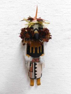 Old Style Hopi Carved Eagle Traditional Katsina Doll