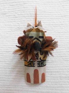 Old Style Hopi Carved Eagle Traditional Katsina Doll Ornament