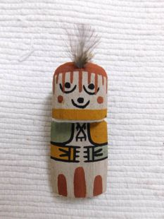 Old Style Hopi Carved Grandmother Traditional Katsina Doll Ornament