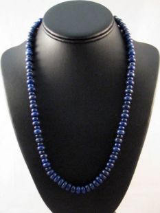 Native American Hopi Made Lapis Necklace