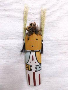 Old Style Hopi Carved Cricket Traditional Racer Katsina Doll