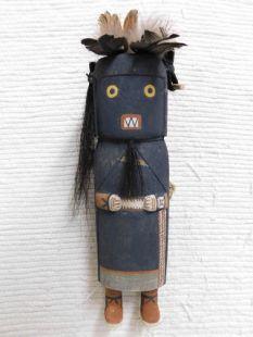Old Style Hopi Carved Warrior Maiden Katsina Doll