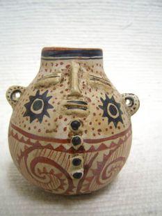 Effigy Gourd Pot