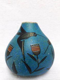 Hummingbird Gourd Pot