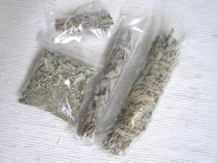 Sage in Large, Medium, Bagged and Small
