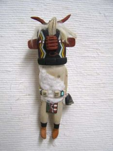 Old Style Hopi Carved Heheya Traditional Messenger Katsina Doll