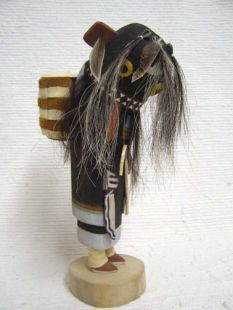 Old Style Hopi Carved Ogre Woman Disciplinarian Katsina Doll