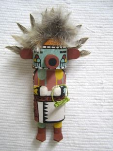 Old Style Hopi Carved Morning Singer Traditional Katsina Doll