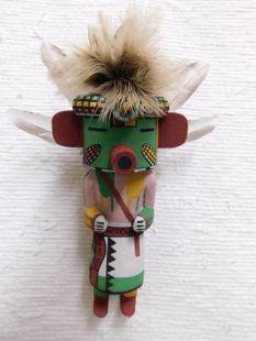 Old Style Hopi Carved Corn Boy Traditional Plant Katsina Doll