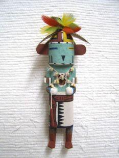 Old Style Hopi Carved Thunder Traditional Dancer Katsina Doll