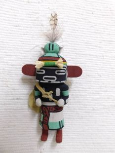 Old Style Hopi Carved Warrior Twin Traditional Warrior Katsina Doll