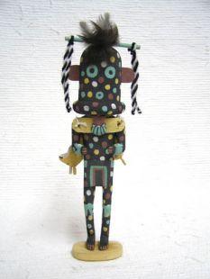 Old Style Hopi Carved Firewalker Traditional Germination Katsina Doll