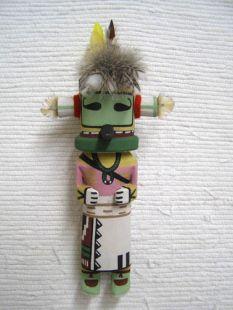 Old Style Hopi Carved Hummingbird Traditional Bird Katsina Doll