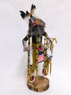 Native American Made Badger Dancer Katsina Doll