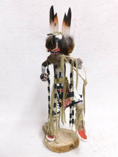 Native American Made Badger Dancer Katsina Doll
