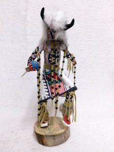 Native American Made Buffalo Dancer Katsina Doll