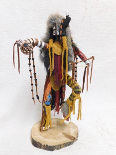 Native American Made Buffalo Dancer Katsina Doll