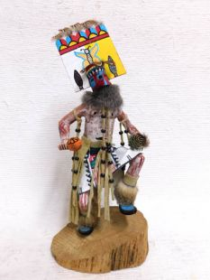 Native American Made Butterfly Hemis Harvest Katsina Doll