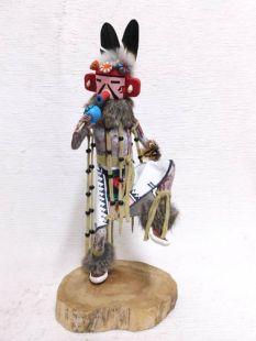 Native American Made Cactus Flower Katsina Doll