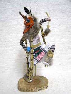 Native American Made Cicada Dancer Katsina Doll