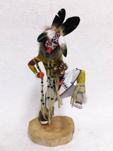 Native American Made Cocklebur Guard Katsina Doll