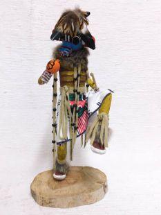Native American Made Rattle Racer Katsina Doll
