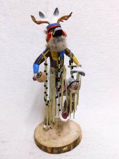 Native American Made Deer Dancer Katsina Doll