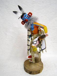 Native American Made Heheya Amutaga Dancer Katsina Doll