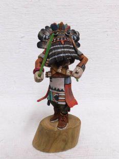 Native American Hopi Carved Broadface Guard Katsina Doll