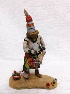 Native American Hopi Carved Soyal Katsina Doll