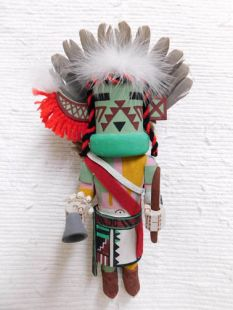 Old Style Hopi Carved Supai Dancer Traditional Katsina Doll