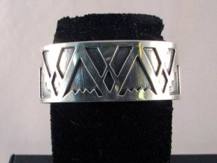 Native American Navajo Made Cuff Bracelet