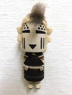Old Style Hopi Carved Snow Maiden Traditional Katsina Doll