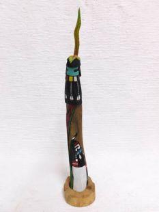 Native American Hopi Carved Longhair Katsina Sculpture