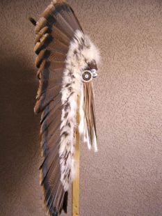 Native American Made Half Trailer Warbonnet