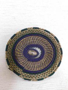 Native American Chippewa Made Basket--Bruised