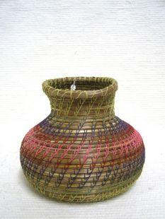 Native American Chippewa Made Basket--Spouts