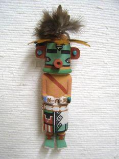 Old Style Hopi Carved Corn Dancer Traditional Plant Katsina Doll