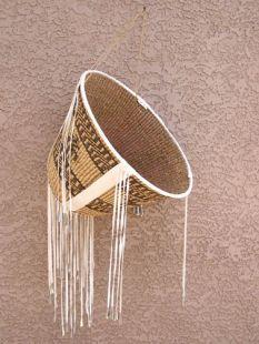 Native American Apache Made Burden Basket