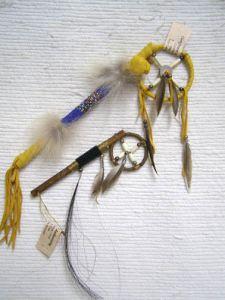 Native American Navajo Made Small Medicine Man Sticks