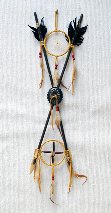 Large Native American Dreamcatcher