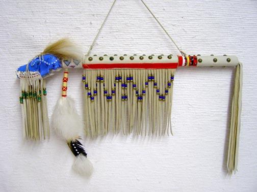 Native American Lost Wolf Fox Skull