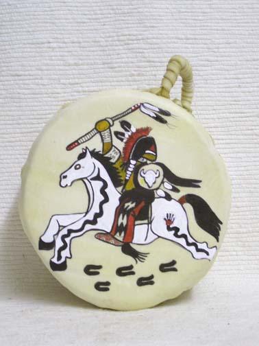 Native American Whitehorse Drum