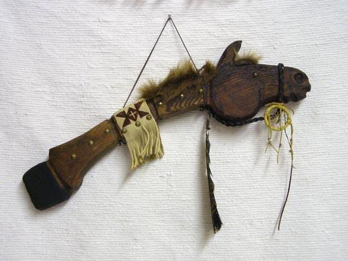 Native American Horse Stick