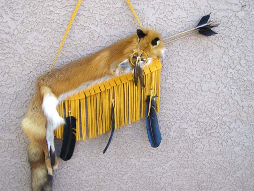 Native American Red Fox Quiver