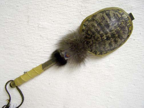 Cherokee Turtle Rattle